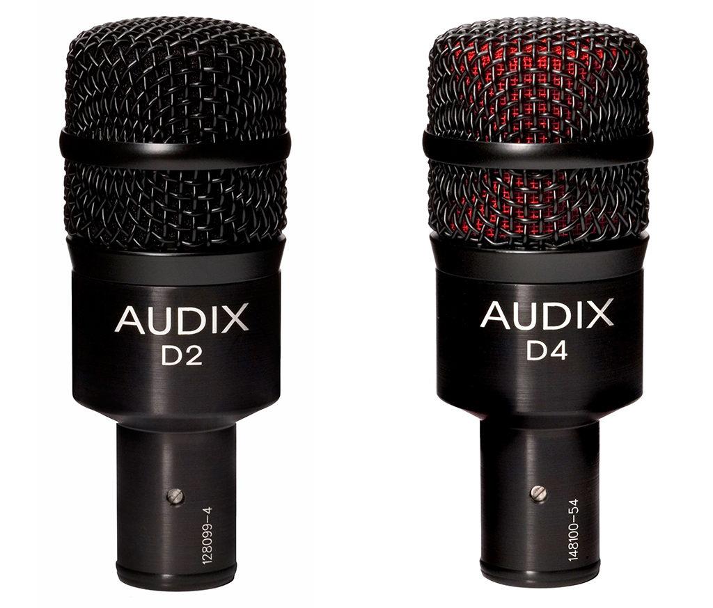 Richard Geer Uses Audix D2 and D4 Tom Mics