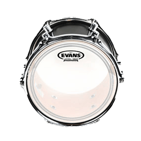 New EC2S Frosted Drum Heads on Richard Geer's Toms