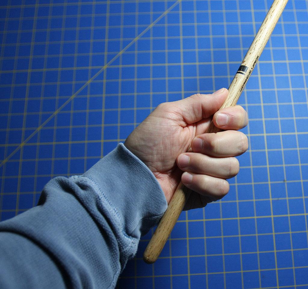 Left Hand Drumming Grip Before